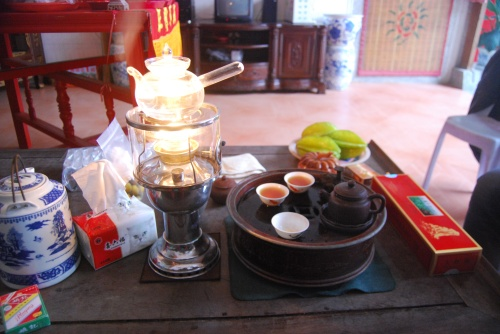 Gongfucha, a unique way of drinking Chinese tea only found here in Shantou and surrounding villages!